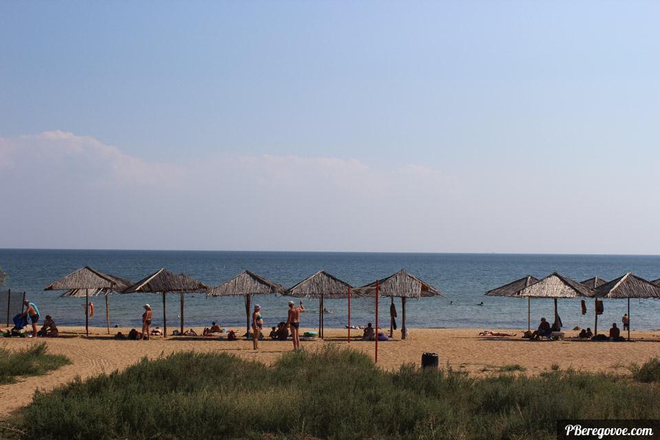поселок береговое пляж