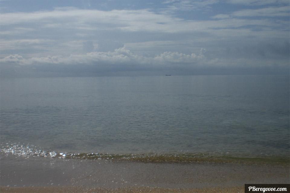 поселок береговое море