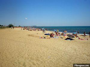 Лето пляж Береговое