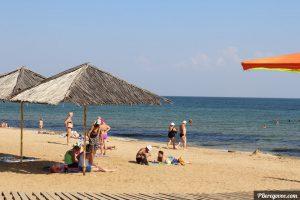 отдых в береговом пляжи