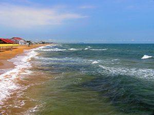 Золотой пляж, Береговое, Феодосия, Крым