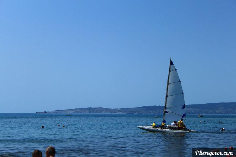 Вид на залив Береговое