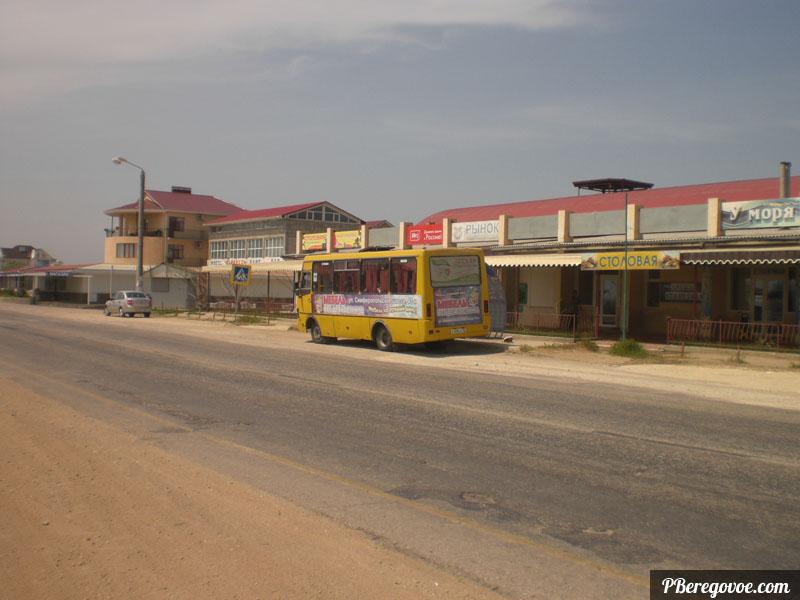 автобус береговое феодосия