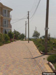 догога к пляжу Береговое