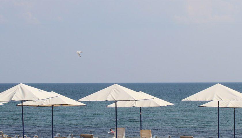 Фото пляжа в Береговом