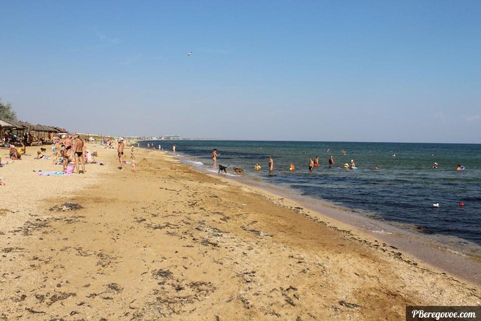 море после шторма