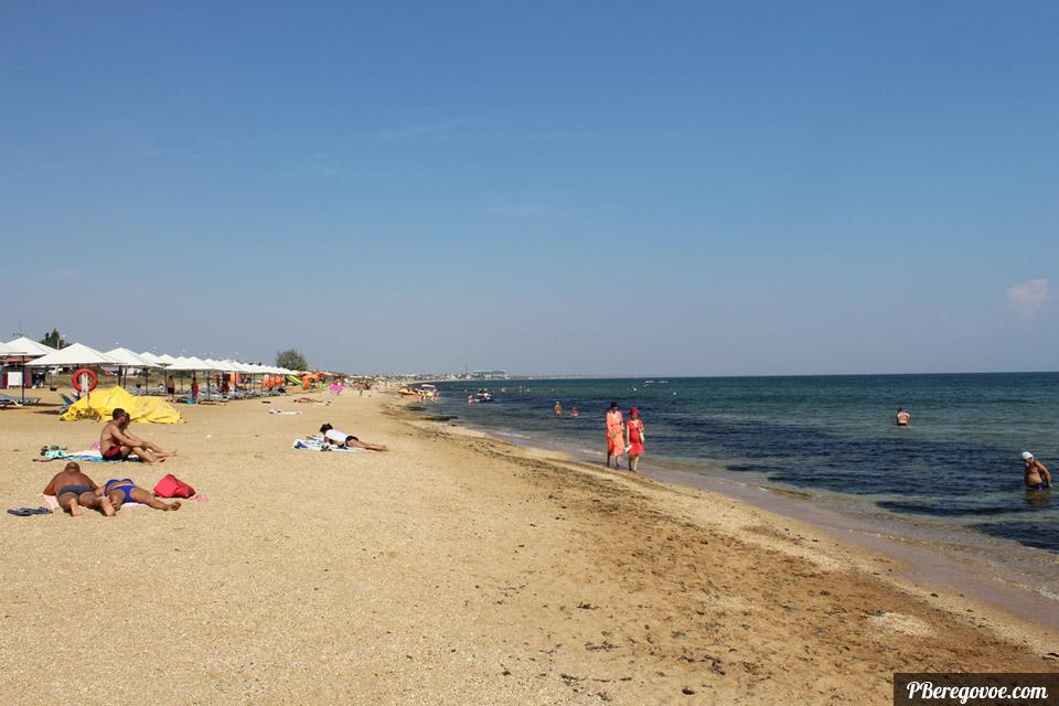 самый длинный пляж