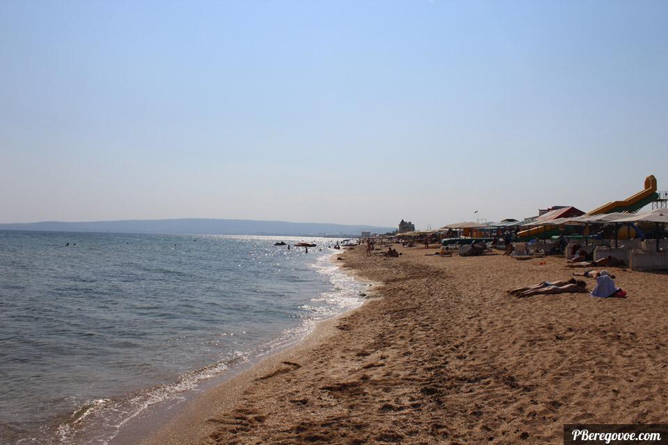 пляж и море протяженность